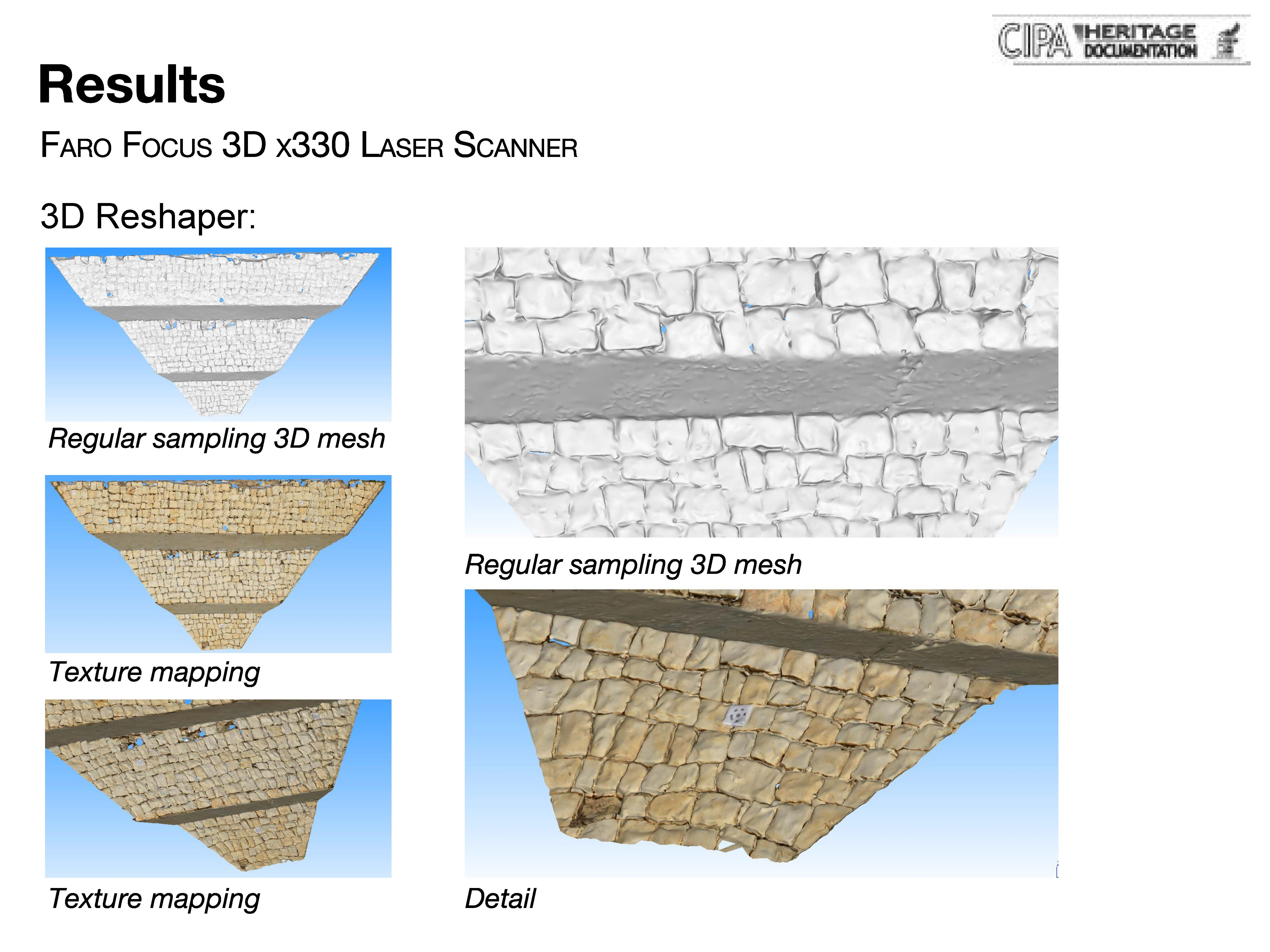 3D Reshaper - Mesh and texture