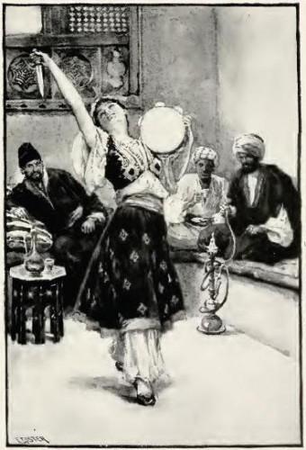 Slave girl Morgiana dances to save the life of Ali Baba