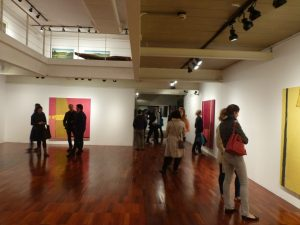 Gallery View, Bernnô exhibit, Galeria Estação. Floor 2. 2016