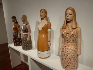 Izabel Mendes da Cunha. 2008 – 2009. Earthenware. Approx. 83 x 33 x 23 cm. Galeria Estação, Floor 3.