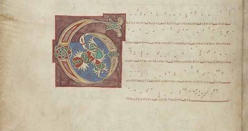 Le graduel de Gaillac, BnF, Département des manuscrits, Latin 776, f. 4v.