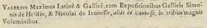 1 entrée = 3 opera = 1 unité codicologique = 3 volumes = de1 à 3 cotes de mss différentes (Brugge, Groot-Seminarie Mss 157/188, 158/189, 159/190, XVe siècle).