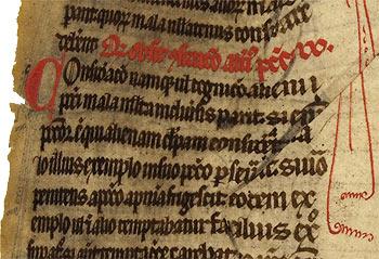 Image 3 : Chartres, Bibl. mun. 205 (xiiie s.), feuillet inconnu