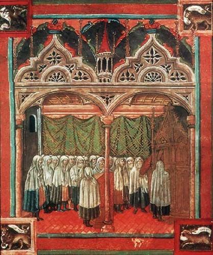 Vatican, bibliothèque apostolique, Cod. Rossian. 555, f. 12v.