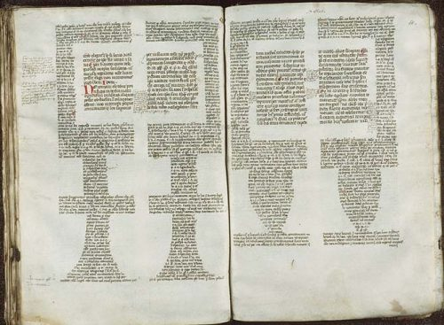 Mise en page, Vendôme, BM, 87, f. 59v-60.