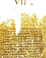 Napoli, Bibl. Nazionale, PHerc. 1497, col. 121 et 122.