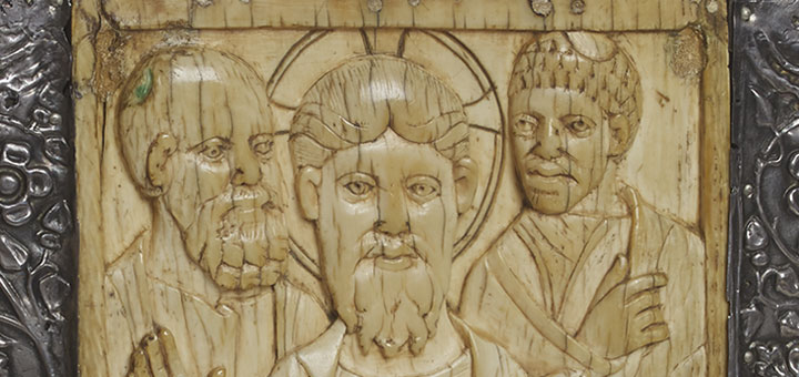 Saulieu, musée François Pompon, Evangéliaire dit de Charlemagne