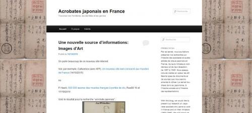 Acrobates japonais en France
