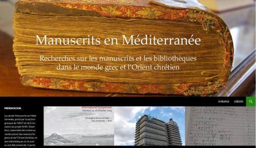 Manuscrits en Méditerranée