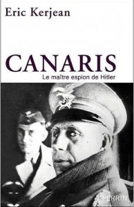 Couverture biographie Canaris