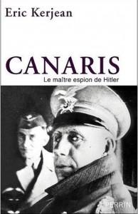 Couverture biographie Canaris