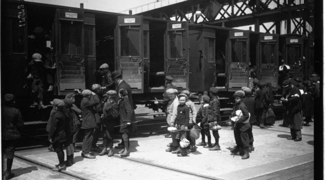 «Voilà les boches» : mémoire d'une réfugiée de la Grande Guerre