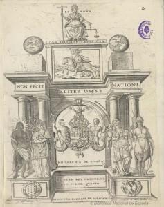Monarchía de España o Deducción histórica y jurídica de los derechos del Rey Catholico. 1622. Pedro Salazar de Mendoza