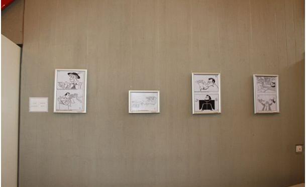 Kleine Ausstellung zu Franz Josef Strauß im Institut für Zeitgeschichte