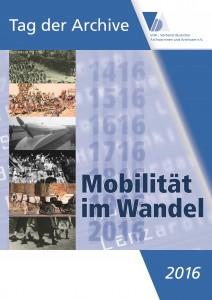 Plakat des Verbands der Archivarinnen und Archivare zum Tag der Archive 2016.
