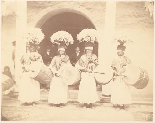 Musikanten in Copacabana, Fotografie 1876