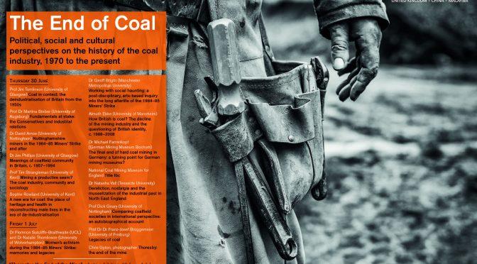 montan.dok beteiligt sich an Symposium zum Ende des britischen Steinkohlenbergbaus in Nottingham