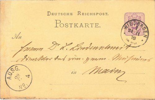 cohausen-postkarte