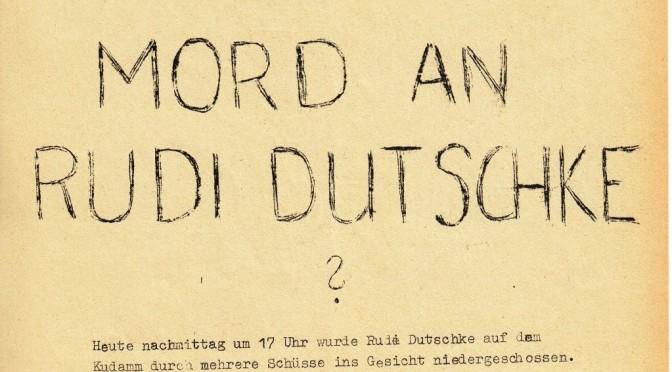 """Quellen gegen Mythos und Verteufelung von """"68"""""""