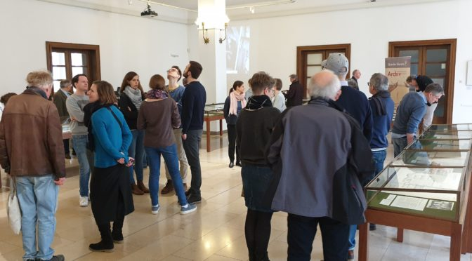 Von begeisterten Besuchern, großzügigen Spendern und zufriedenen Archivaren