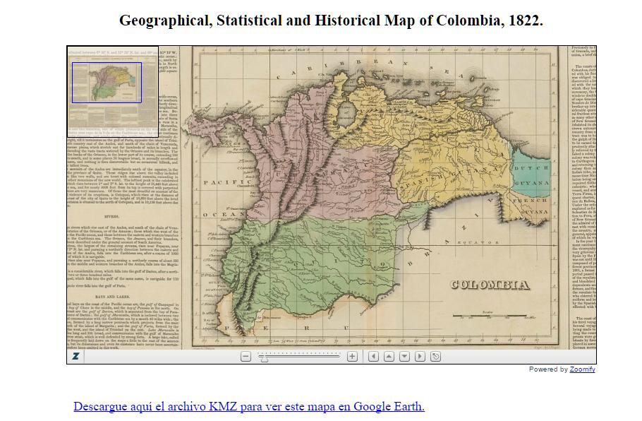 Divisiones territoriales en el término de la audiencia de Santa Fe ...