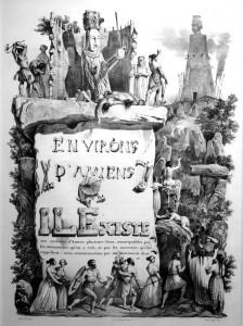 Extrait de Nodier, Voyages pittoresques et romantiques dans l'ancienne France