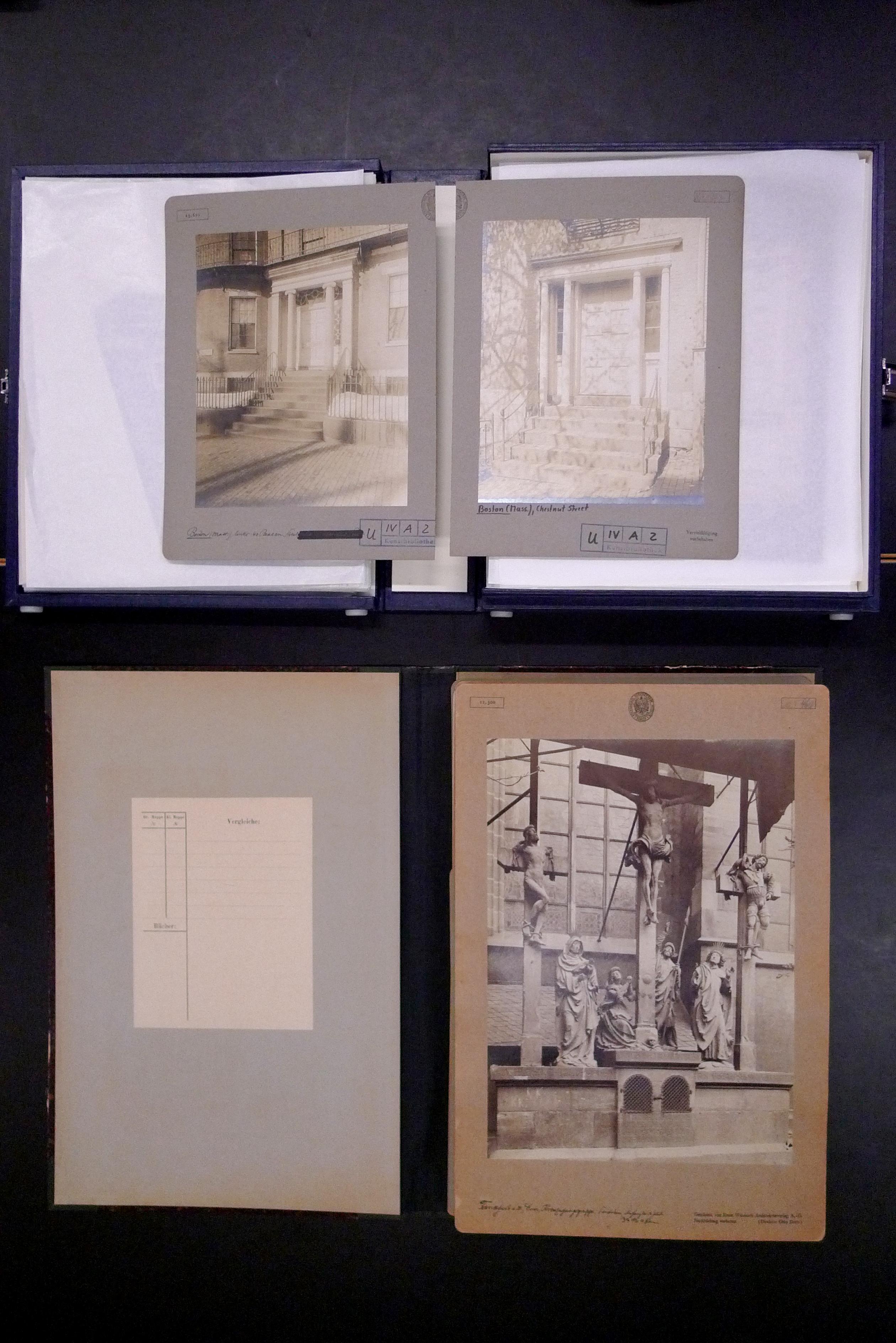 Architekturfotografien aus den USA und Europa um 1900 | FOTO-OBJEKTE