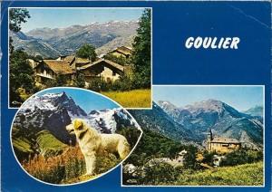 Carte postale : Goulier - Vers 1950 - Fonds Gilles Dejean