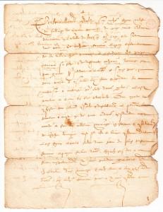 Acte de mariage de Antoine Fogeron et Prisce Fournier, 7 janvier 1606