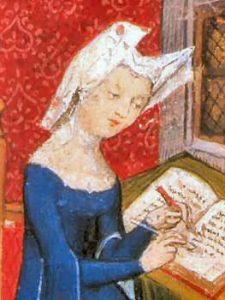 Chrsitine de Pisan, extrait du manuscrit des Cent Balades