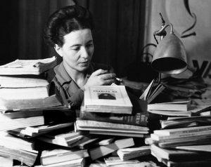 Simone de Beauvoir, années 1940