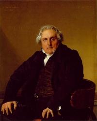 """Ingres, """"Portrait de Monsieur Bertin"""", 1832, huile sur toile, 116 x 96 cm (ill. 6)"""