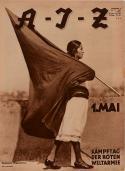 Couverture de la revue A-I-Z, n°17, 1931. Photographie Tina Modotti, 38 x 28 cm, The Museum of Fine Arts, Houston.