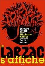"""Couverture """"Le Larzac s'affiche"""", Le Seuil, 2011"""