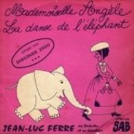 """Pochette du vinyl, Jean-Luc Ferré, """"Mademoiselle Angèle"""""""