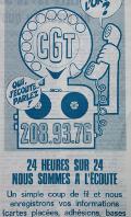 """Allo CGT, un journal sonore au service de la """"bataille des idées"""""""