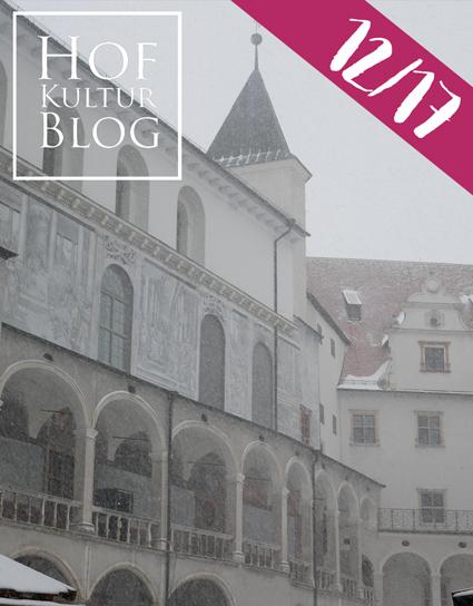 Schloss Neuburg im Schneegestöber