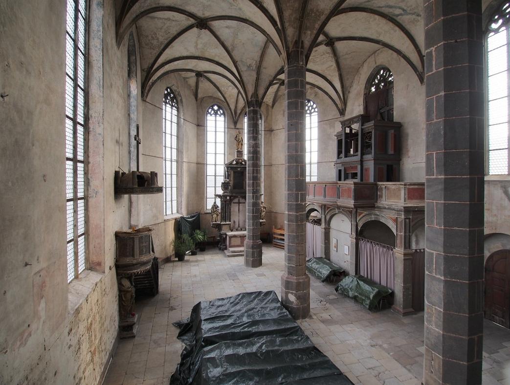 Schloss Lichtenburg, Schlosskirche nach Osten