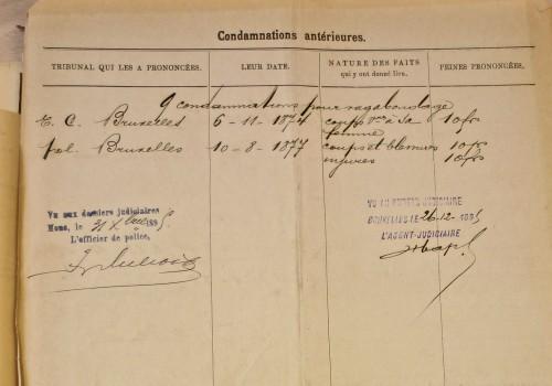 AGR2, Cour d'Assises de Brabant, Case file 2127, 1895