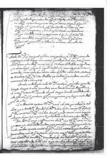 Conselhos de Antônio Barbosa de Lima a Félix José Machado 07 de Agosto de 1710. Biblioteca Nacional de Portugal.