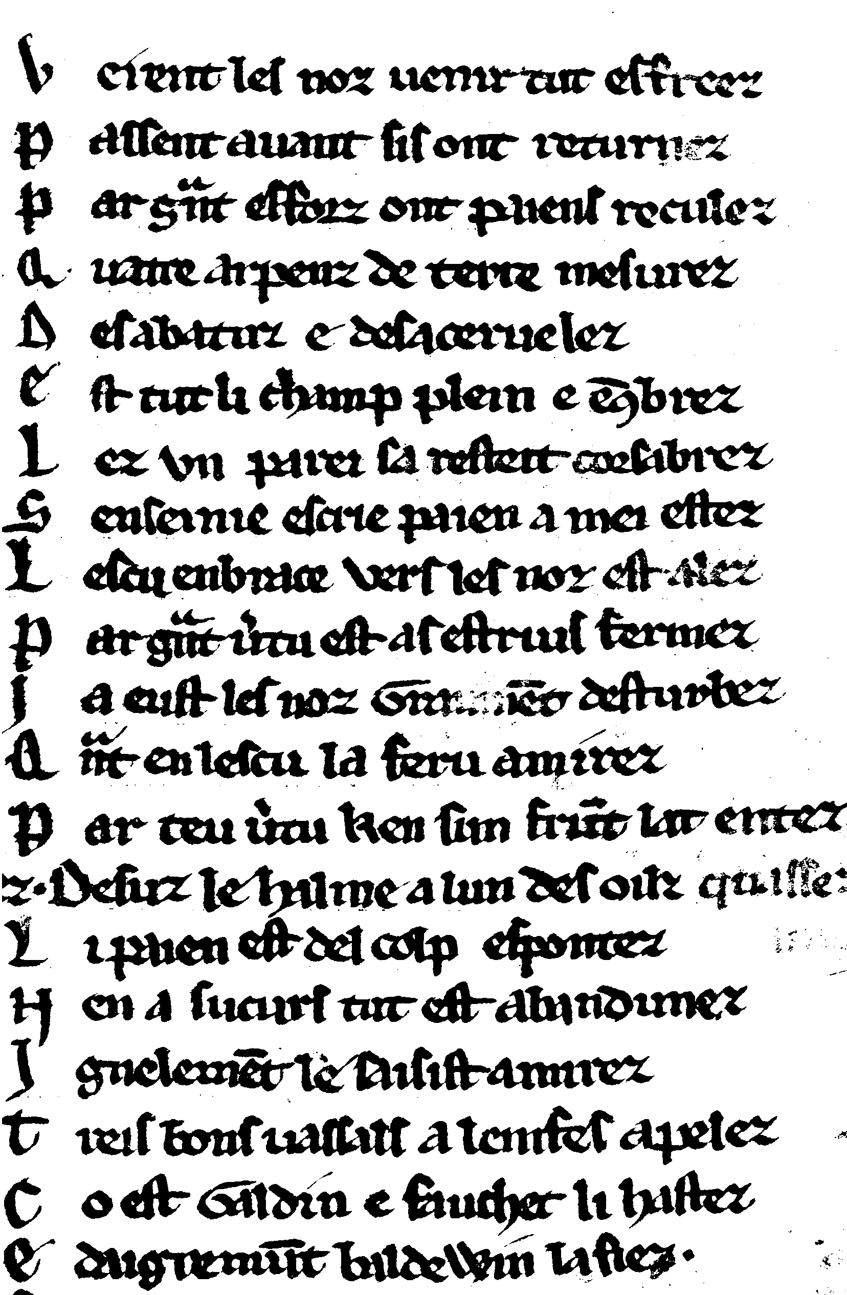 Fig. 8: ms. Bodmer 68, col. 221b, binarised.