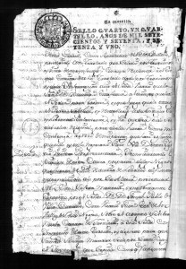 AGN, Colombia, Archivo Histórico de Antioquia, Negros y esclavos, SC142