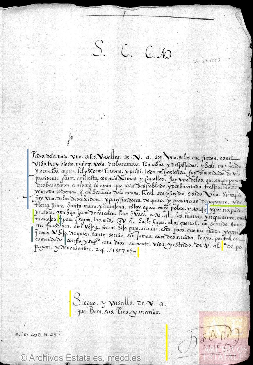 Capítulo 6: Génesis documental y análisis interno del documento ...