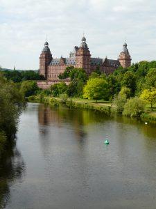 Die St. Johannisburg in Aschaffenburg. Foto: Verfasser