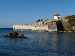 Fort Pantokrátor am Stadtrand von Préveza