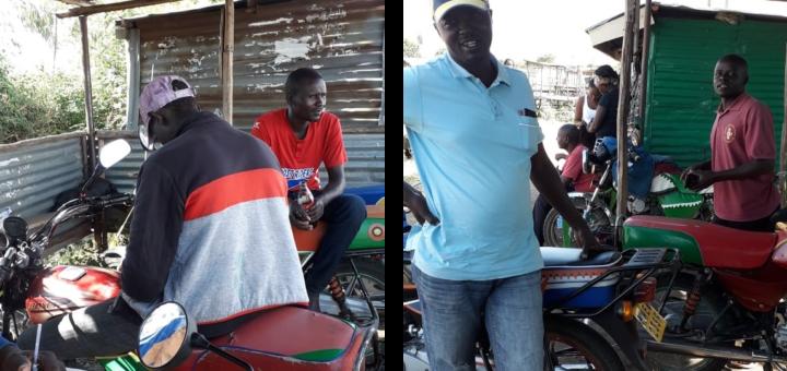 Nyakongo bodaboda riders