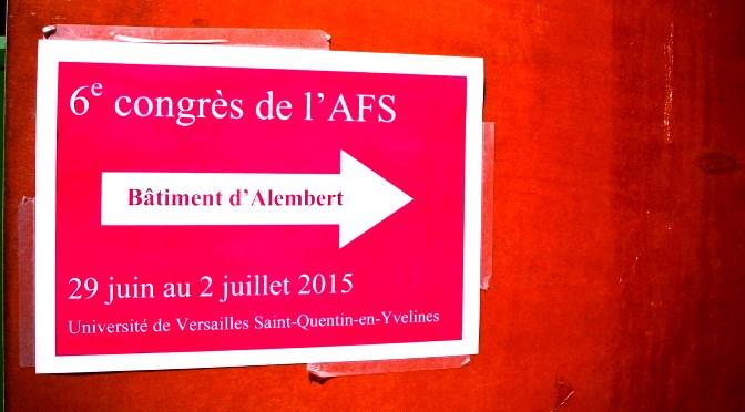 Lancement du carnet de l'Association Française de Sociologie