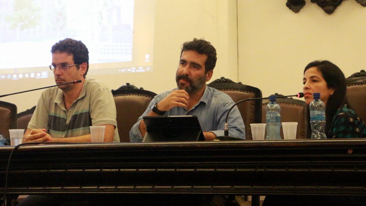 Professores Naylor, Maurício e Gleide