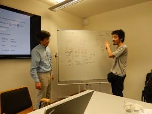 Marc Miyake et Xun Gong