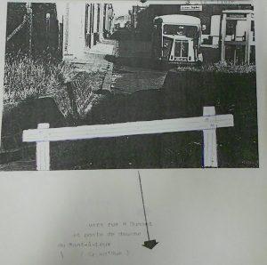 Archives de la ville de Mouscron, dossier 581.4, Frontière, dossier photographique sur la frontière.